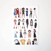 Pack de pegatinas · Girl Power!