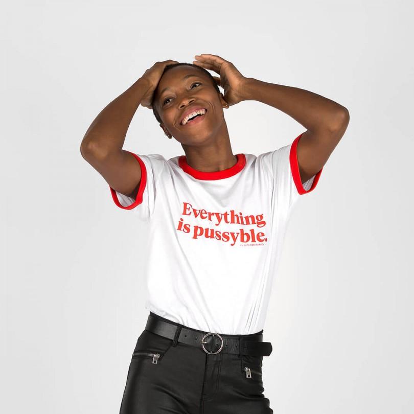 Camiseta · Everything is pussyble