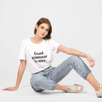 Camiseta · Good grammar is sexy
