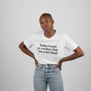 Camiseta · Today I want to confess that I am a bit tired