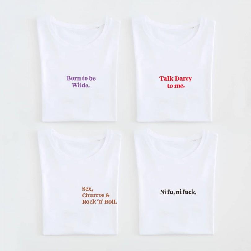 Camiseta · Talk Darcy to me