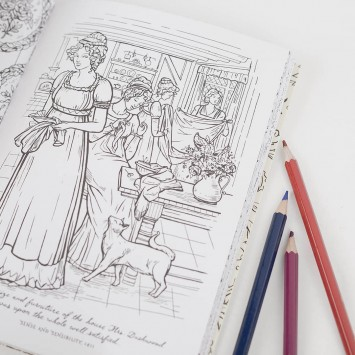 Color Me Jane · A Jane Austen Coloring Adult Book (Penguin English Library)