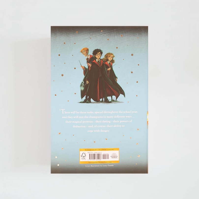 Harry Potter and the Goblet of Fire · J.K. Rowling (Bloomsbury)
