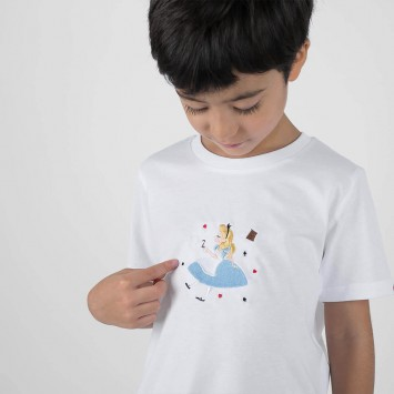 Camiseta · Take me to Wonderland