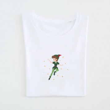 Camiseta · Take me to Neverland