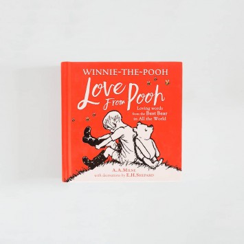 Love From Pooh · A A Milne (Egmont Books)
