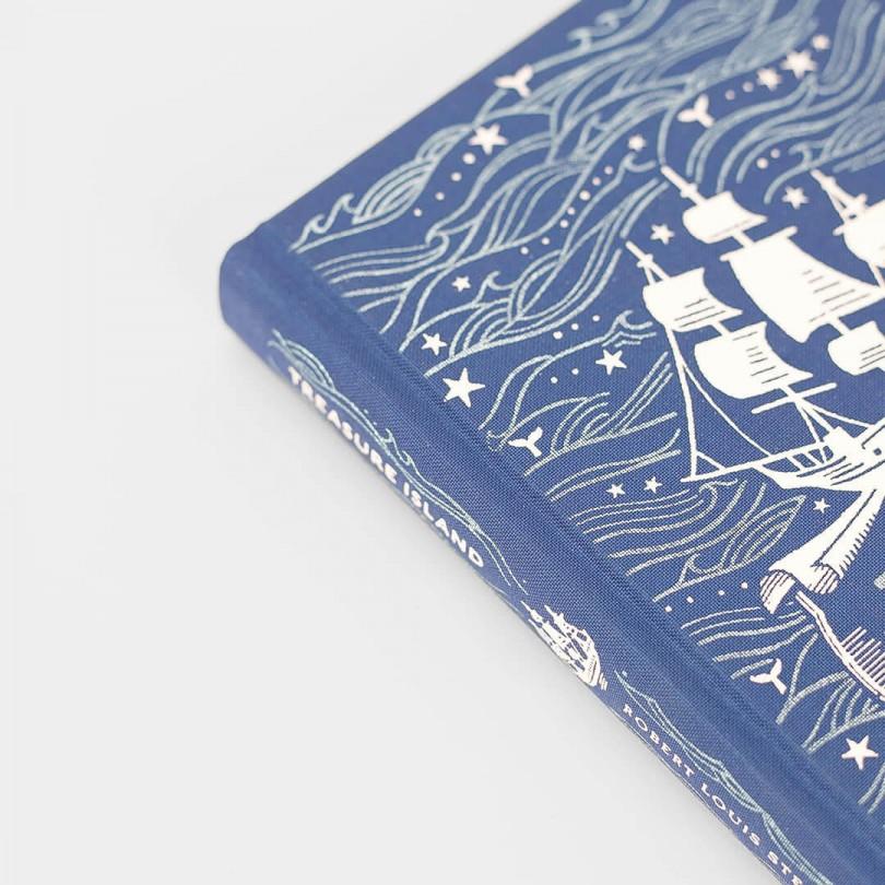 Treasure Island · Robert Louis Stevenson (Puffin Clothbound Classics)