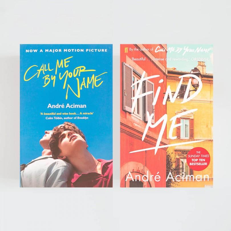 Find me · André Aciman (Faber & Faber)