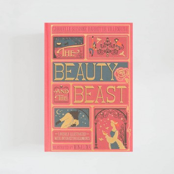 The Beauty and the Beast · Gabrielle-Suzanne Barbot de Villeneuve (MinaLima)