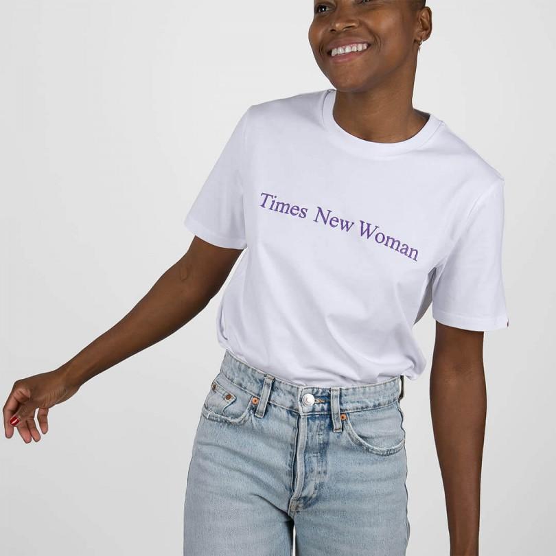 Camiseta · Times New Woman