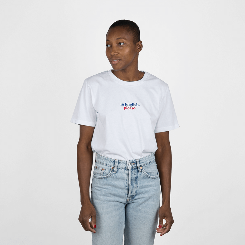 Camiseta · In English, please