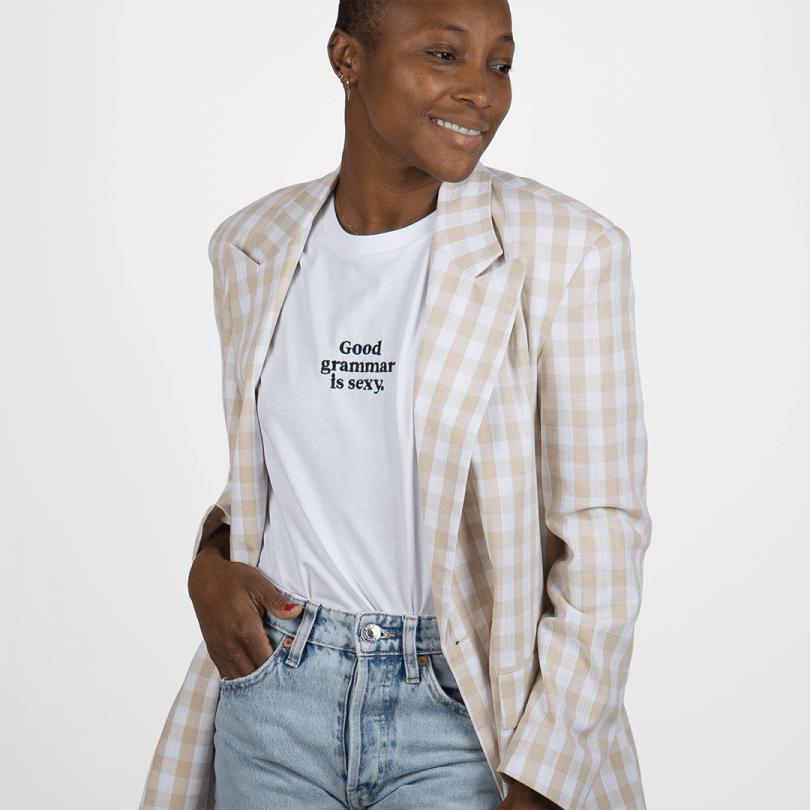 Camiseta · Good grammar is sexy