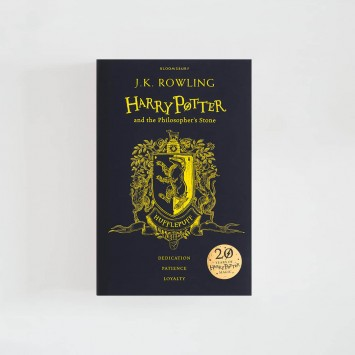 Harry Potter and the Philosopher's Stone · J.K. Rowling (Hufflepuff Hardback Edition)