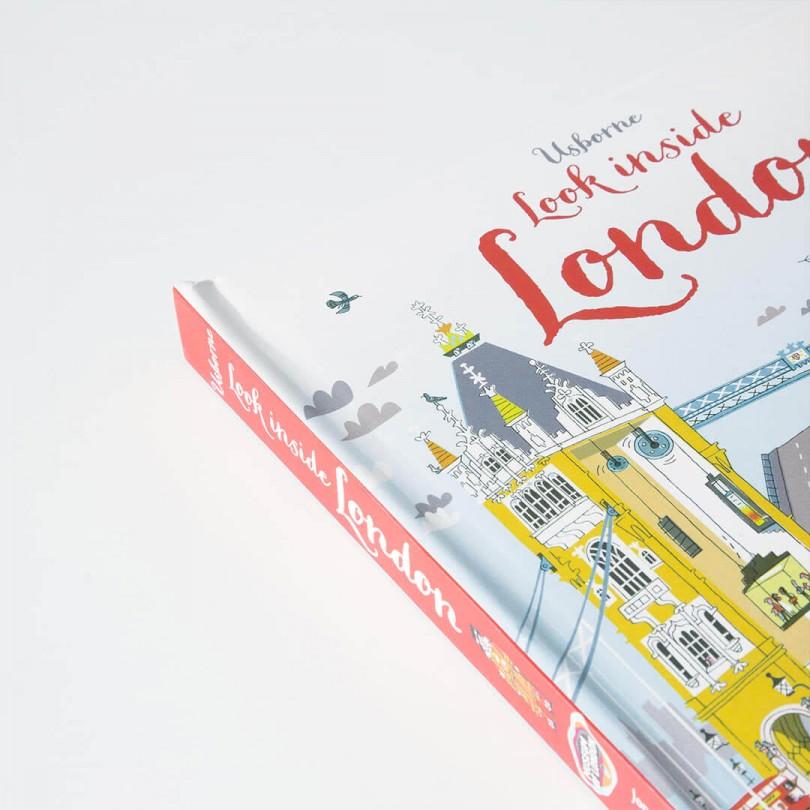 Look Inside London (Usborne Look Inside Editions)